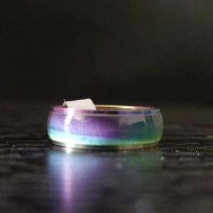 Other - 5️⃣For2️⃣5️⃣🌈 NWT Rainbow LGBTQ  steel ring